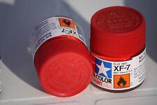 Tamiya Peinture Pot 10ml XF7 Rouge Mat