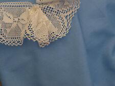 Blue Fine Cotton Voile Fabric -Smocking,Embroidery, etc -140cm x per half-metre