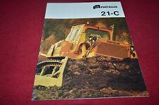 Fiat Allis Chalmers 21-C Crawler Tractor Dozer Dealer's Brochure BWPA ver5