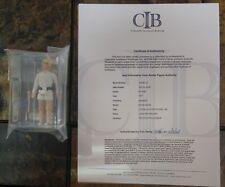 Vintage Star Wars Luke Skywalker DT double telescoping lightsaber AFA 80 COA