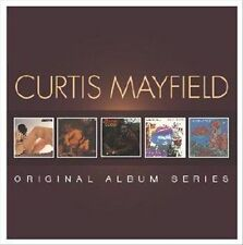 Original Album Series [Slipcase] by Curtis Mayfield (CD, Sep-2013, 5 Discs,...