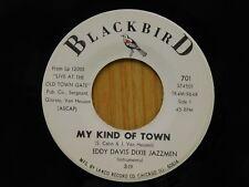 Eddy Davis Dixie Jazzmen 45 My Kind Of Town / O.D.J.B One Step - Blackbird VG++