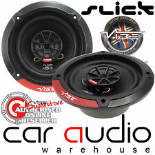Vibe SLICK5  420 Watts a Pair 13cm 2 Way Front or Rear Car Door Dash Speakers