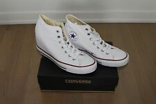 Converse Chuck Taylor All Star Lux Hidden Wedge Mid-Top High Heel Sneakers