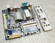 Foxconn D270S/D250S Mini ITX Motherboard with Intel Atom 2500 CPU and Backplate
