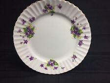 Beautiful Radfords Bone China Made In England Purple Floral Plate Vintage Rare