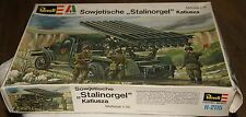REVELL  Modell 1/35 SOWJETISCHE STALINORGEL KATIUSZA WW2 VINTAGE 60s 70s