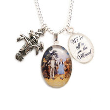 WIZARD OF OZ necklace We're off to see the wizard yellow brick road dorothy