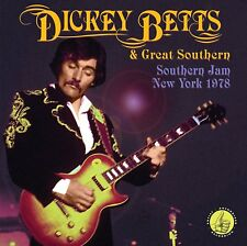 DICKEY BETTS & GREAT SOUTHERN - SOUTHERN JAM NEW YORK 1978   2 CD NEU