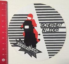 Aufkleber/Sticker: Belmo Design - Sicherheit In Leder (03051615)