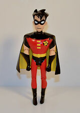 "RARE 2001 Robin 6"" Action Figure DC Batman Quick Restaurants France"