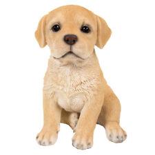 "Labrador Retriever Puppy Dog Collectible Figurine Miniature 6.5""H New"