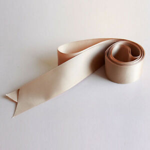 Satin Ribbon Wedding Belt Bridal Sash 4cm Wide Double-side Silk Ribbon Waistband