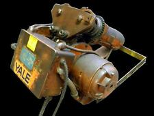 YALE CABLE KING 201S 1 TON ELECTRIC HOIST 3 PHASE 460 VOLTS 1.5 HP