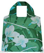 FRANGIPANI playa o de compras Bolsa Bolsa Clip Plegable sakittome Eco Reutilizable Chic