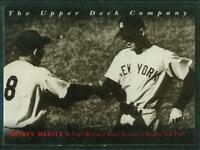 1994 Upper Deck Baseball Card, No. 7, Mickey Mantle of the New York Yankees