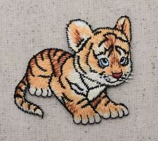 Baby Tiger Cub - Wild Animals - Zoo/Cat - Iron on Applique/Embroidered Patch