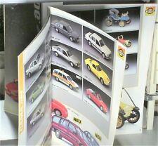 CATALOGUE REVENDEUR 1/43 GAMA 1990 :OPEL, BMW, VW, OLDTIMERS, JOUETS,AGRICOLES