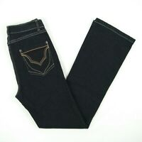 Gordon Smith - Black High Rise Straight Stretch Denim Jeans Women's Size 10