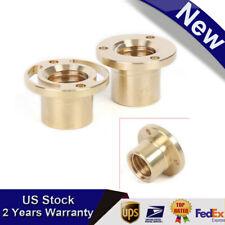 2pcs Milling Machine Tools X Y Axis Longitudinal Brass Copper Feed Nut Set Sale