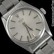 1973 ROLEX OYSTER Classic Vintage Mens SS Steel Watch - Mint with 1 Yr. Warranty