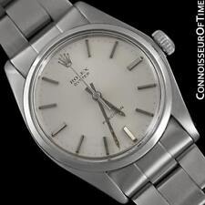 1973 ROLEX OYSTER Vintage Mens Handwound Watch, Stainless Steel - Classic Design