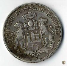 HAMBURG, Hansestadt, 5 Mark 1876 J, Jg. 62, schön+