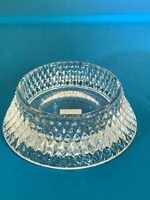 Vintage Party Lite Radiance Glass Crystal Candle Holder