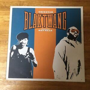 "BLAK TWANG - Trixstar - BANKSY Artwork RARE - 12"" Vinyl Record **LIKE NEW**"