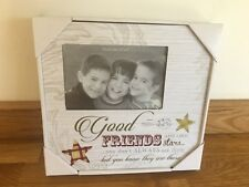 Good Friends Art Deco Wood Photo Frame