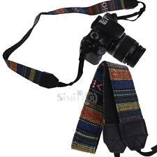 Retro Digital Camera Shoulder Neck Strap Belt for Canon Nikon Sony DSLR SLR New
