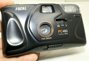 Focal PC 480 point and shoot camera with 34mm f5.6 lens