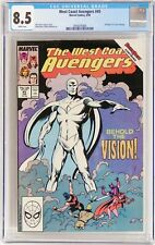 West Coast Avengers #45 1989 CGC 8.5 VF+ 1st appearance White Vision
