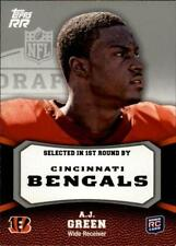 2011 Topps Rising Rookies Gold #150 A.J. Green RC Bengals