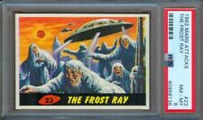 1962 MARS ATTACKS #23 THE FROST RAY PSA 8++ HIGH END!
