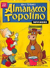 [289] ALMANACCO TOPOLINO ed. Mondadori 1958 n.  11 stato Buono