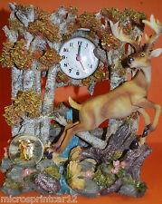 Deer in the woods Clock