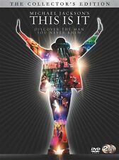 Michael Jackson's - This Is It (DVD, 2010, 2-Disc Set)