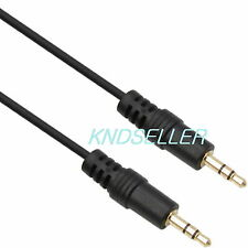 15cm 0.5ft ( 3.5mm Stereo Male to Male Cable ) Cord Headphone Speaker Audio