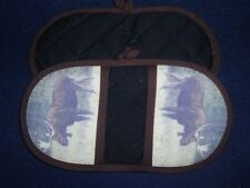 1 NEW  Handcrafted Microwave Potholder - MOOSE #2