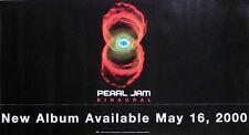 Pearl Jam 2000 Binaural Promo Poster Original