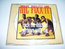 MC FIXX IT - ROCK THE DISCOTEX 4tr. maxicd AUSTRIA 1990