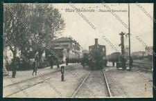 Asti Nizza Monferrato Treno Stazione cartolina QQ7130