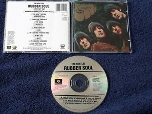 THE BEATLES Rubber Soul CD RARE CINRAM PRESSING UK STEREO MIX CANADA C2 46440