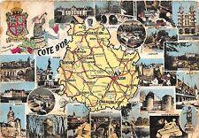 B47783 Bourgogne Cote-d'Or carte map multi vues  france