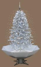 Sapin de Noël avec chute de neige neige LED Lumiere MUSIQUE 2 m Blanc