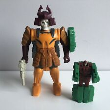 Transformers G1 Bludgeon Pretenders 99% Complete Read