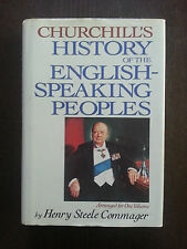 Book, CHURCHILL'S HISTORY OF THE ENGLISH SPEAKING PEOPLES by Commager,