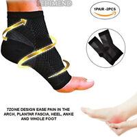 PEDIMEND Plantar Fasciitis Socks (1PAIR) - Compression Sleeve Ankle Support - UK
