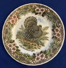 CHURCHILL WILDLIFE MELEAGRIDIANA MYOTT ARCHIVES TURKEY DINNER PLATE APPROX. 10""